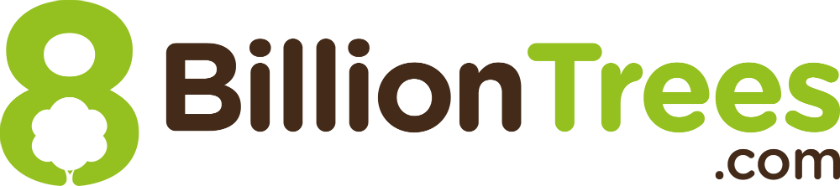 8 Billion Trees company logo